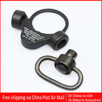 Wholesale Troy Qd - Troy Dual Side QD Sling Swivel Full Steel Mount Attachment For GBB Black With Opp Bag Free Shipping