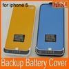 New product Portable Power Back 2200mah Case Charging Power External Battery For Iphone 5 5G 5S