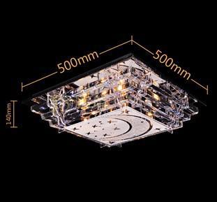 Moderne Mode Glas LED Ciling Lamp Kroonluchter Woonkamer Eetkamer Slaapkamer Licht