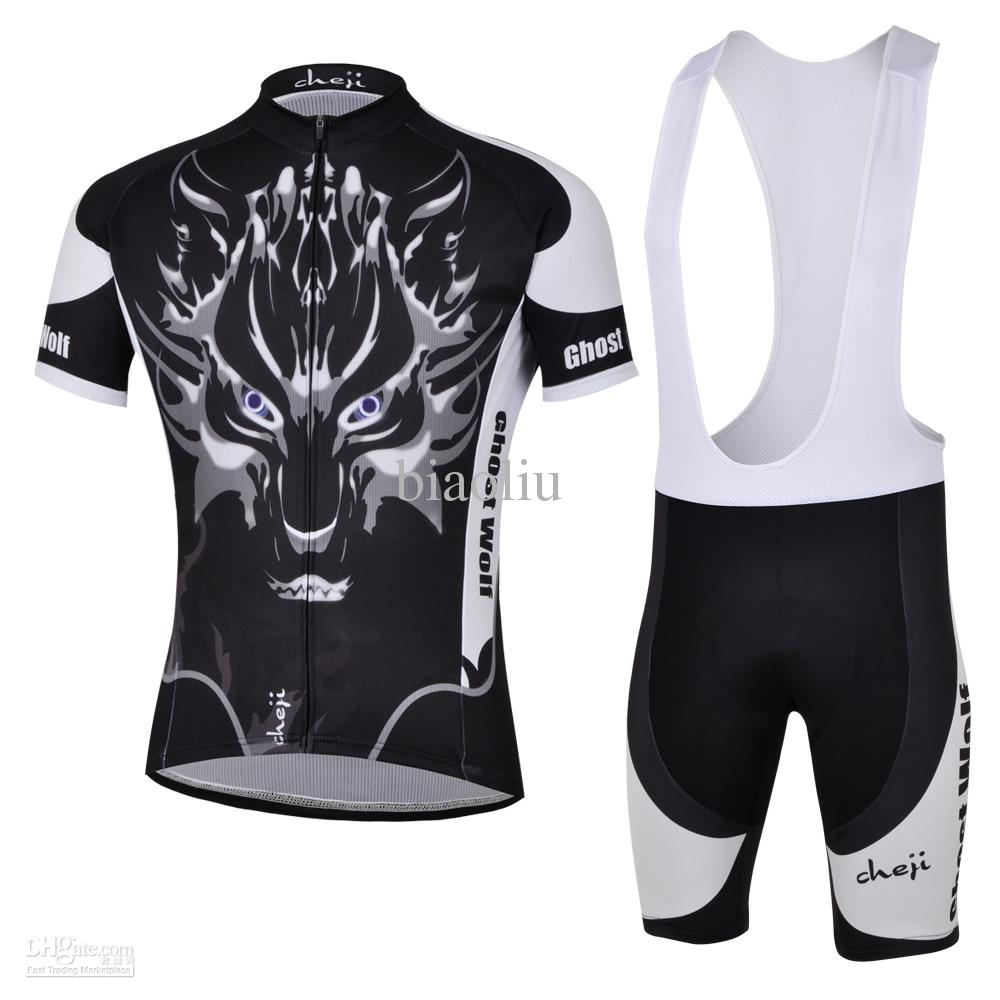 cycling jersey set Ghost Wolf Cycling Jersey 2012 ghost wolf cycling jersey short sleeve cycling bib shorts set men cycling jersey
