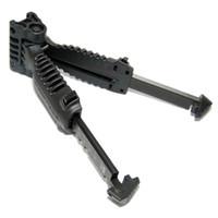 Wholesale Wholesale Bipod - DHL Free Shipping MAKO FAB DEFENSE T-POD Gen 1 Foregrip & Bipod Black