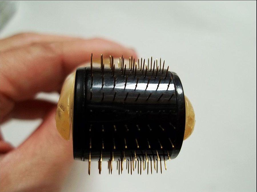 MT Titainium micro needle derma roller black head different size for skin care,
