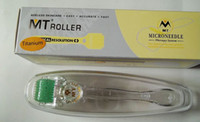 tamanho da agulha micro venda por atacado-MT 192 liga Titainium micro agulha derma roller 10 tamanho diferente, dermaroller pele beleza ferramenta frete grátis