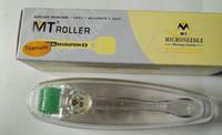 mikro-nadel derma titan großhandel-MT 192 Titanium legierung micro nadel derma rolle 10 verschiedene größe, dermaroller haut schönheit werkzeug kostenloser versand