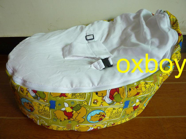 Free Shipping Winnie Bear Baby Beanbag Seatpooh Design Doomoo Bean Bag Sofa Beds