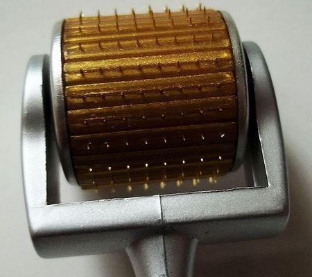 High quality new arrival MT 192 Titanium alloy micro needle derma roller , skin beauty Titanium dermaroller