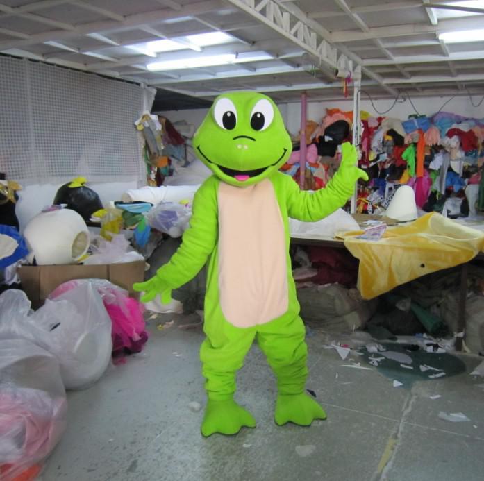 volwassen pluche groene kikker mascotte kostuum dier kostuum cartoon kostuum gratis verzending