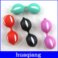Wholesale Sex Trainer For Virgin Women - 6328 Kegel Exercise Smart Bead Ball Virgin Trainer Geisha Ball Love Ball G-Spot and Vaginal Stimulator Sex Toys for Women Adult Product Rand
