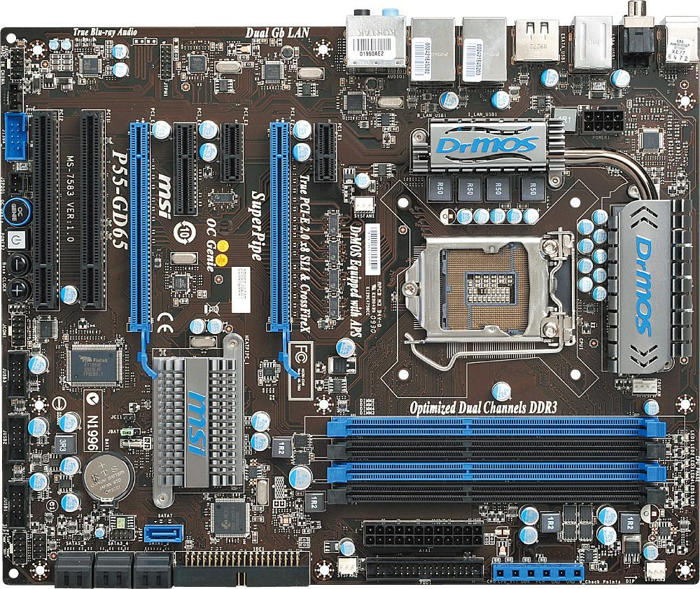 MSI P55-GD65 LGA 1156 Intel Desktop Motherboard Tested Working Online with  $206.37/Piece on Lijin201108's Store | DHgate.com
