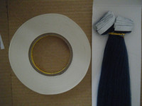 Wholesale 3m Roll - 3M white tape adhesive tape for tape hair extensions 1cmx50m big roll free post