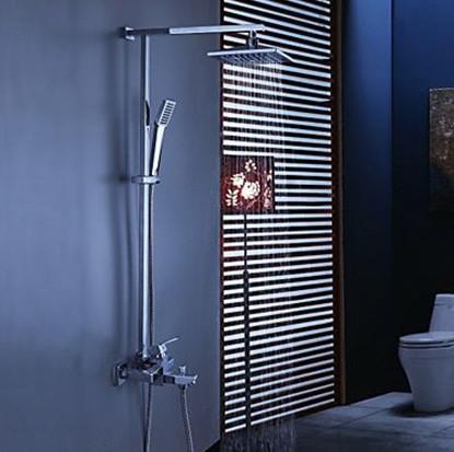2018 8 Bathroom Rainfall Shower Head+ Arm Hand Spray Valve Faucet Set  Ad2021 From Jnijj, $148.12 | Dhgate.Com