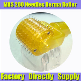 Wholesale Derma Roller Mrs - New MRS 200 Titanium Needles Derma Roller Collagen Induction Therapy Anti Aging SKin Care Device