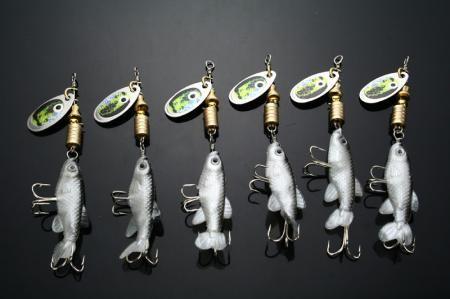 Leurre de pêche Spinner Bait 6g / pc