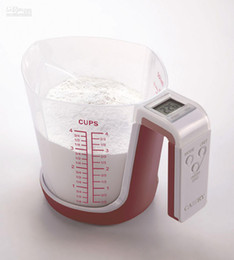 Wholesale Digital Measuring Cup Balance - Digital Kitchen Scales Measuring Cup Balance with 1000ml Cup Volume and 3kg 6.6lbs Capacity