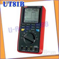 Wholesale Digital Oscilloscope Ut81b - Uni-T UT81B Handheld Digital Multimeter Oscilloscope+free shipping