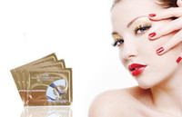 Wholesale gel sheet mask - Wholesale - 200 pairs lot Pairs Anti-Wrinkle Gel Collagen Under Eye Patches Pad Mask Bag Dark Circle