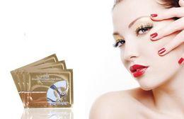 Wholesale Mask Bag - Wholesale - 200 pairs lot Pairs Anti-Wrinkle Gel Collagen Under Eye Patches Pad Mask Bag Dark Circle