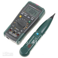 Wholesale Mastech Ms8236 - Freeshipping,Digital Multimeter + Network Cable Track Tester MASTECH MS8236, dropshipping!!!