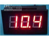 """Wholesale Voltmeter Digital For Pc - 5 PCS LOT 0.56"""" Digital Voltmeter DC 0-100V Red LED Digital Panel Meter Voltage 0V to 100V For Car M"""