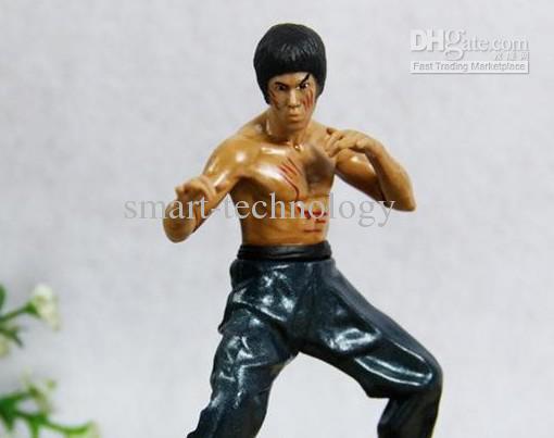 Прохладный Брюс Ли Кунг-Фу фигурки игрушки 4шт в комплект