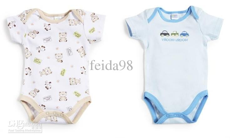2017 The Original Single Baby Clothes Cotton Baby Onesies ...