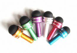 Wholesale Stylus Headphone Dust Plug - 2 in 1 Headphone Dust Plug & Mini Stylus Touch Pen for iPhone iPad Free