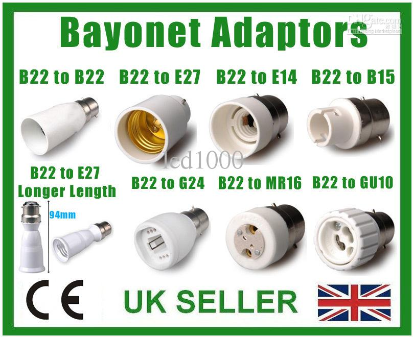 25 Types Of Light Socket Adaptor Base Converter Extender