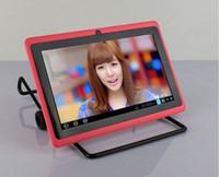 pulgadas q88 dual core tablet pc al por mayor-Q88 A23 con Bluetooth con cámara dual, doble núcleo, 7 pulgadas, tablet PC, android 4.4, mejor empaque minorista