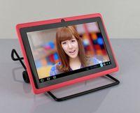 ingrosso q88 tablet android 4.4-Q88 A23 con Bluetooth dual fotocamera da 7 pollici tablet pc android 4.4 confezione migliore al dettaglio
