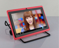 zoll q88 dual core tablet pc großhandel-Q88 A23 mit Bluetooth Dual Camera Dual Core 7-Zoll-Tablet-PC Android 4.4 bessere Verpackung