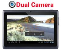 ingrosso allwinner a13 q88 compresse-Più economico schermo a 7 pollici capacitivo 512M 4GB WIFI a13 del android 4.0 del pc della compressa della macchina fotografica di Q88 da 7 pollici