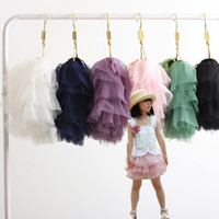 Wholesale Wholesale Black Tutus - girls' tutu skirts baby rara-skirt ball gown miniskirt accordion-pleated skirt gift D10