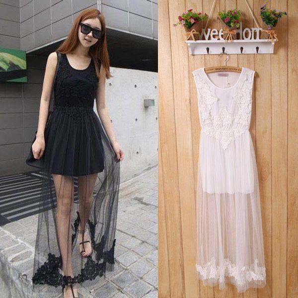 Maxi dress vintage yarn