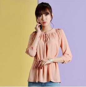 859d77f55a5ea7 2019 Fashion New Summer 2013 Women Silk Blouse 1099   Chiffon Ladies Korean  Long Sleeve Tops From Tianshidejiaoyin88