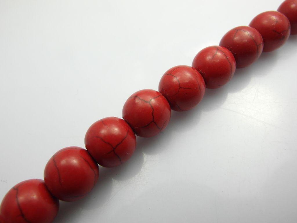 10mm Atacado Howlite Turquesa Gemstone Loose Beads Fit Jóias Fazendo Descobertas