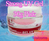 Wholesale Ibd Pink - New T3 Strong Pink Professional Nail Builder UV Gel 30g!! PK the IBD Gel!! Unconditional Return with