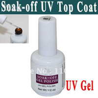 Wholesale Light Cured Gel Nails - Free shipping Soak-Off Nails UV Gel Polish Base Coat Cures in 2 minutes in an UV Light