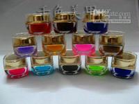 Wholesale Ezflow Builder - freeshipping EZFLOW Pure Color UV Nail Gel 12colors UV GEL PRO Nail Art Builder Gel 155