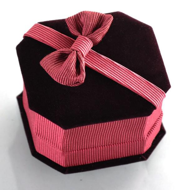 2018 Top Grade Bow Jewelry Boxes Jewellery Gift Box For Stud