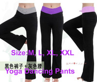 Wholesale Yoga Pants Dancing Hot - Lowest Price 10pcs Sexy Black YOGA Fitness Workout pant Women yoga dancing pants hot selling