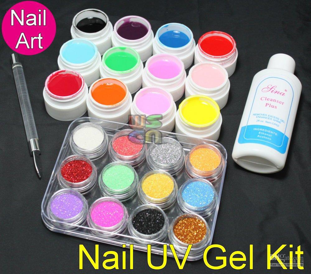 Acrylic glitter powder uv builder gel nail art kit 412 nail art acrylic glitter powder uv builder gel nail art kit 412 nail art nail art nail art kits for beginners from ziyu168 179 dhgate prinsesfo Choice Image