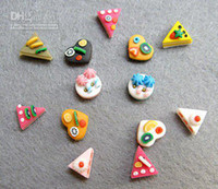 Wholesale Nail 3d Design Cake - free shipping- modeling clay for nail art,cakes, mix designs,60 pieces lots