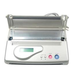 США Dispatch бесплатная доставка Tattoo Transfer Machine ЖК-дисплей термальных копировальных машин наборы для станков поставки ZY006