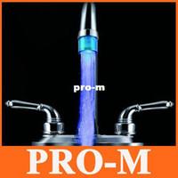 Wholesale Mini Water Tap Basin - blue mini tap,LED faucet Water Stream Faucet Tap, Blue LED basin faucet light,5pcs lot freeshipping