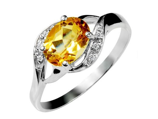 product stacking citrine sterling adjustable november ring silver birthday rings birthstone stackable