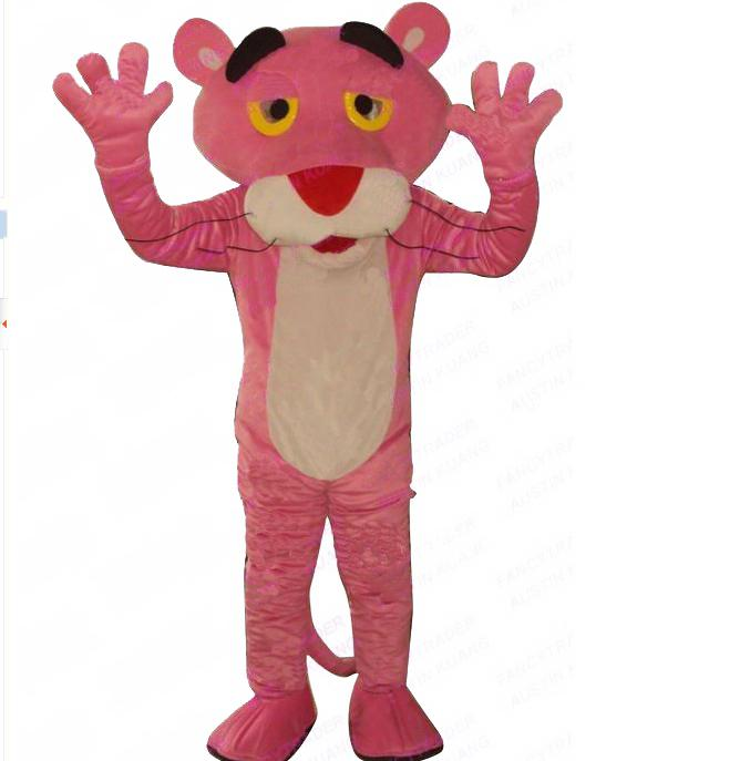 379e4a5ebb57 Meng Sexy Pink Panther Mascot Costume Panther Fancy Dress Angel Costumes  Ladies Halloween Costumes From Mascot5168