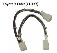 Wholesale Port Changer - car splitter y cable (Small 6+6 Y adapter) for Toyota Lexus Scion with CD changer port occupied by Navi or XM
