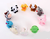 Wholesale Animal Finger Puppet Finger toy plush puppet toy