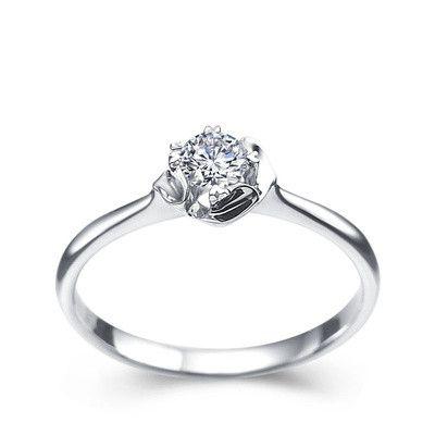 2018 Real Diamond Wedding Engagement Ring Valentine'S Day ...