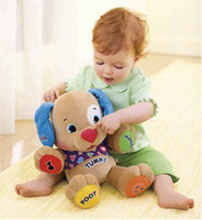 Wholesale Dog Musical - free shipping Laugh & Learn Love to Play Puppy dog music learning in English